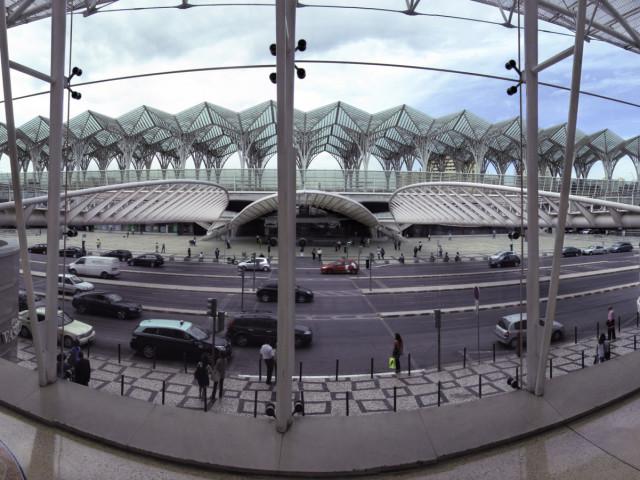 Contemporanea Esterni:  Lisbona, oriente station, arch. Santiago Calatrava