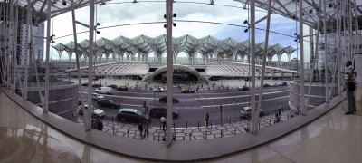 Architettura esterni: Lisbona, oriente station, arch. Santiago Calatrava