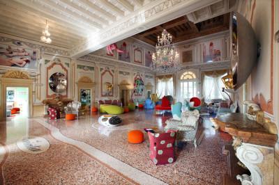 Architettura interni: Verona, Hotel Villa Amistà, Arch. Alessandro Mendini