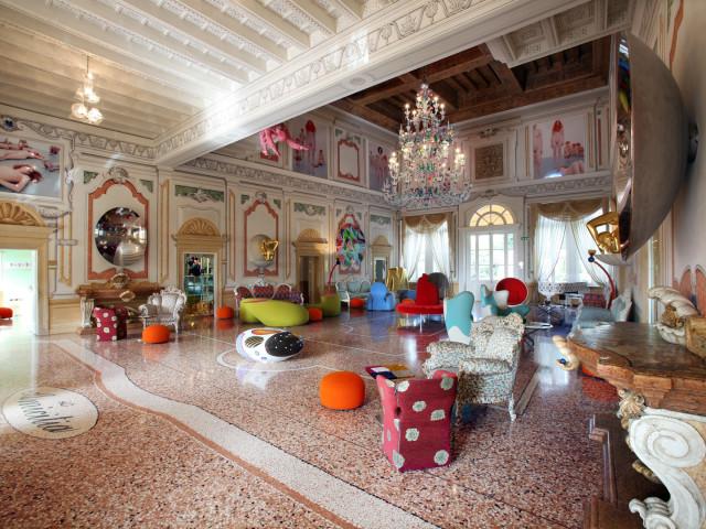 CONTEMPORANEA INTERNI: Verona, Hotel Villa Amistà, Arch. Alessandro Mendini