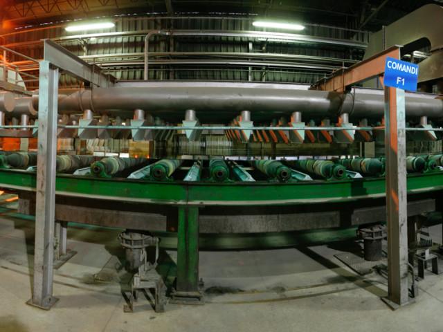 CANTIERISTICA: Pisa, Saint Gobain Glass, produzione lastre vetro