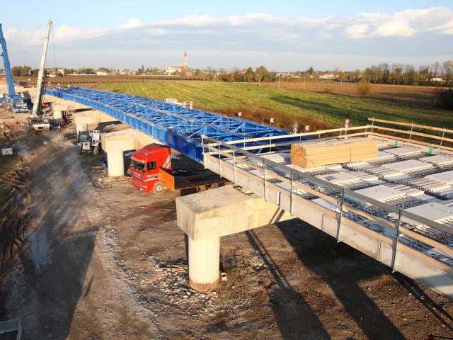 CANTIERISTICA: Treviso, Paccagnan S.p.A. nuovo ponte sul Piave