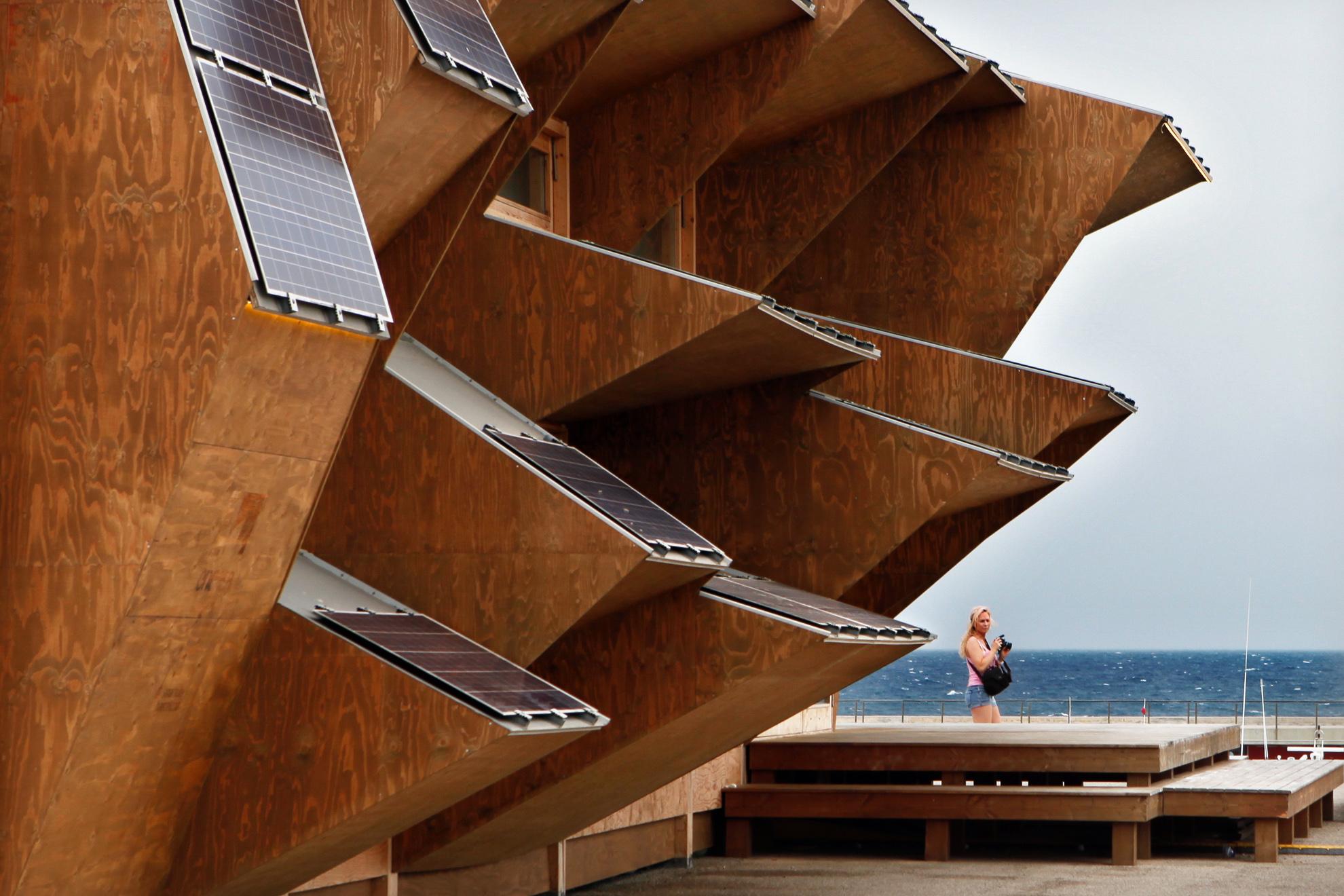 Fotografia di architettura for Architettura contemporanea barcellona